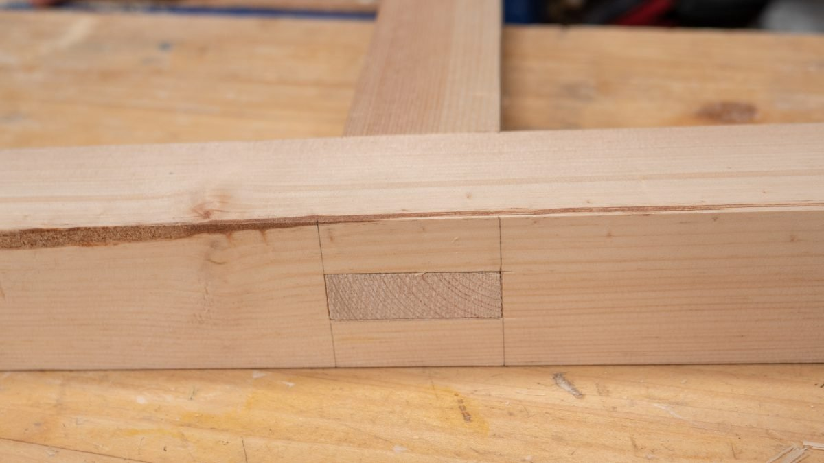 how to make mortise and tenon