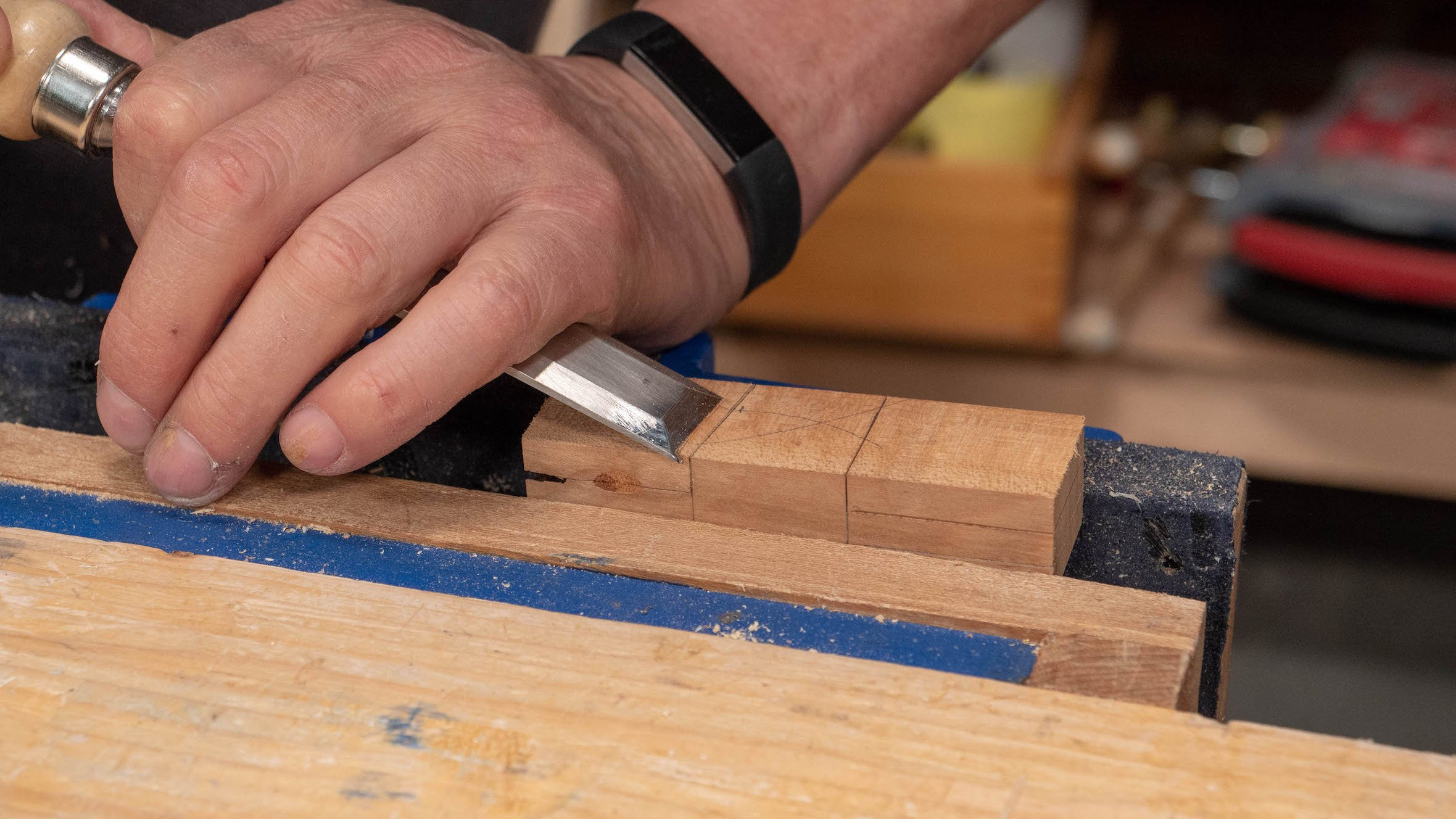 how to make a dovetail template - common woodworking