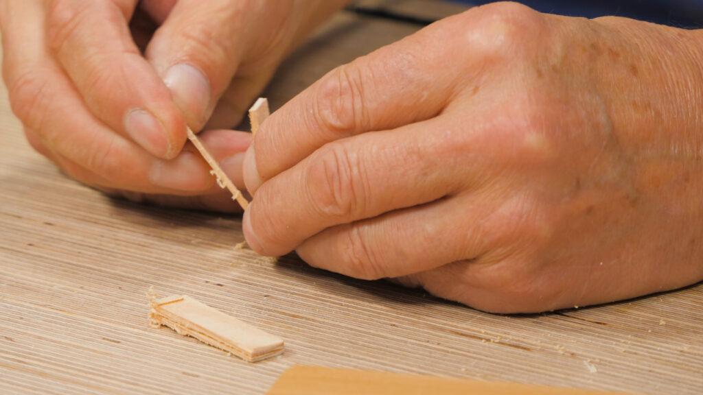 9. Making glue spatulas [6.46]